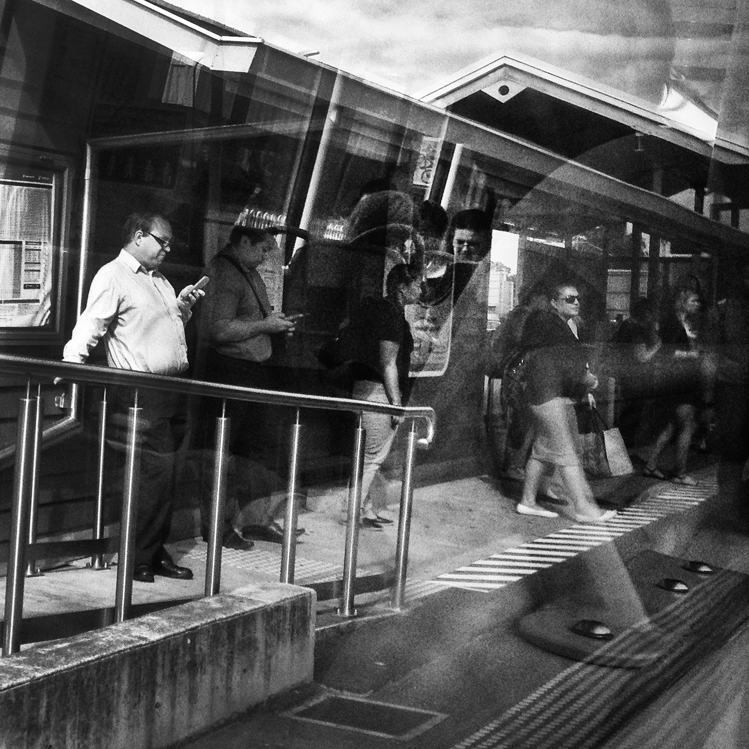 """""""The Commute""""   © Russell Shakespeare 2016"""