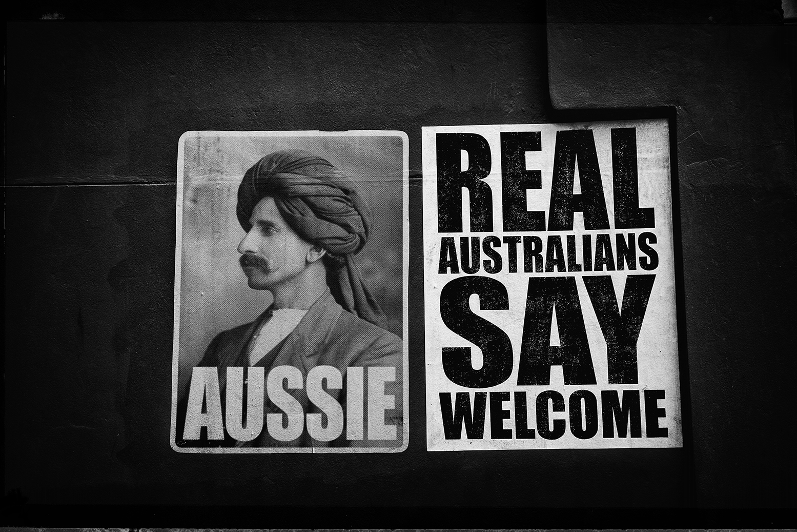 """""""A real Aussie""""                         © Russell Shakespeare 2016"""