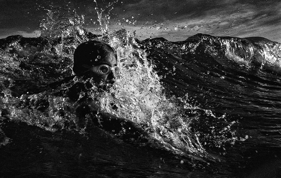 """Body Surfer""  Currumbin                                  © Russell Shakespeare"