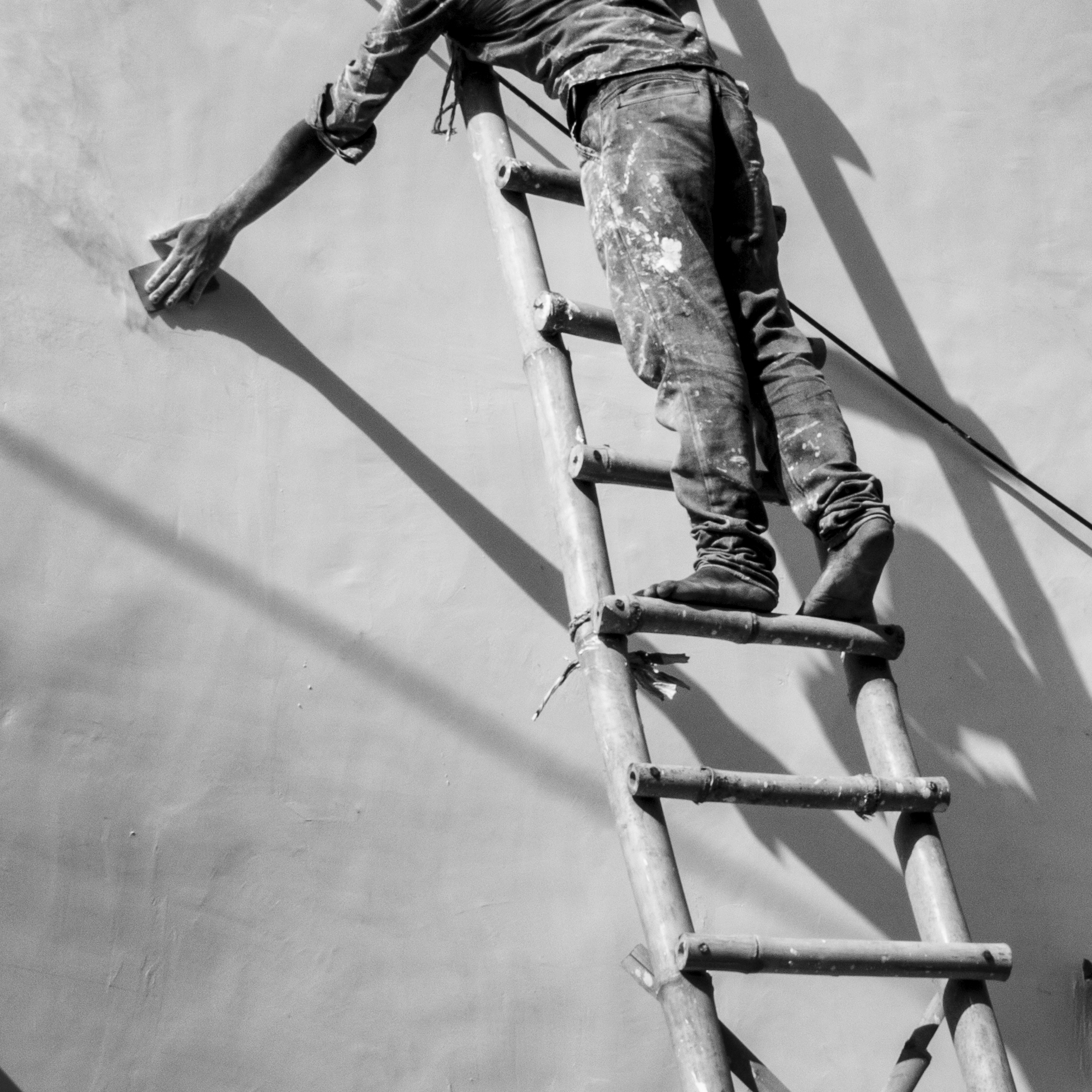 """Ladder Work""                                                          © Russell Shakespeare 2016"
