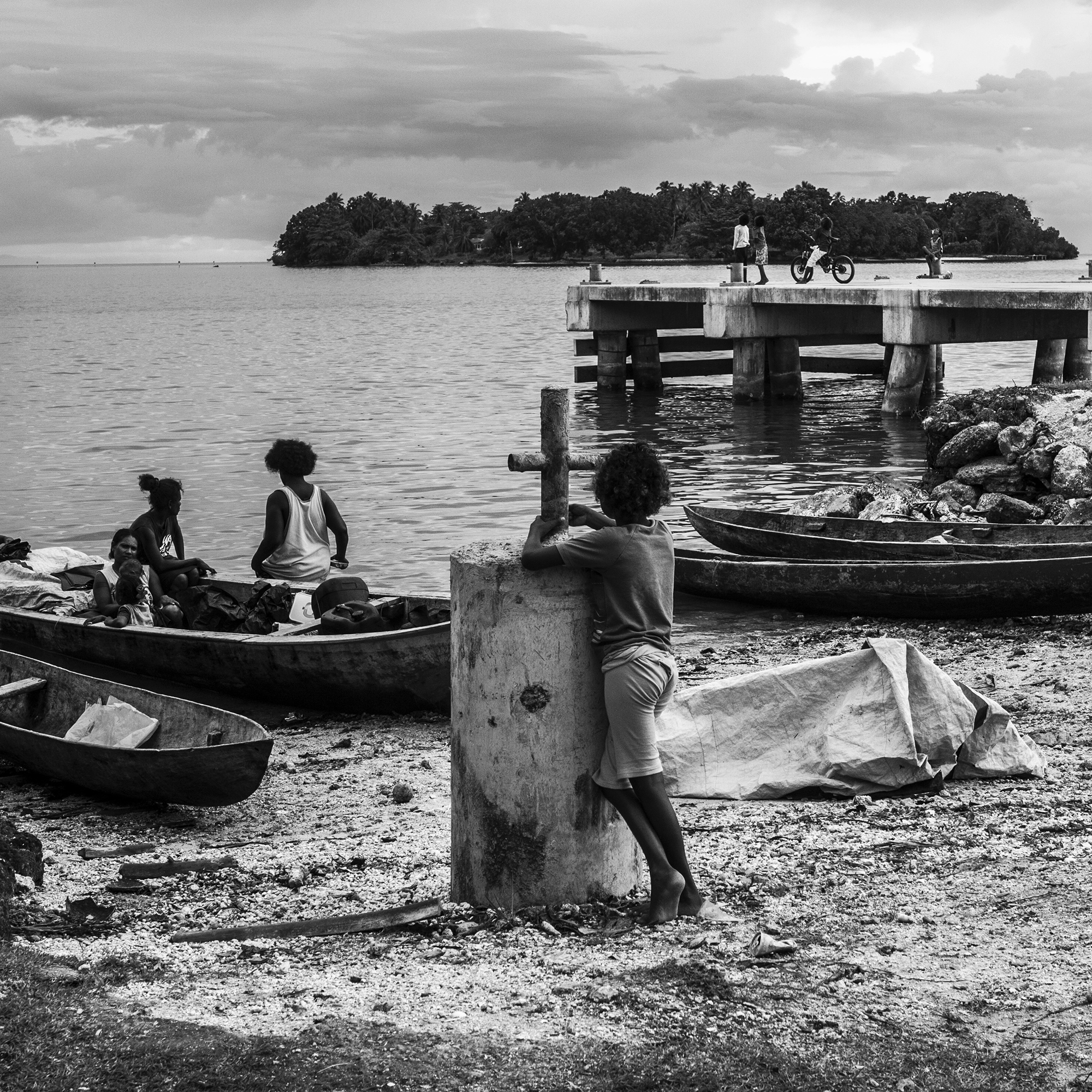 """The Wait"" .  Munda, Solomon Islands                                 ©Russell Shakespeare"