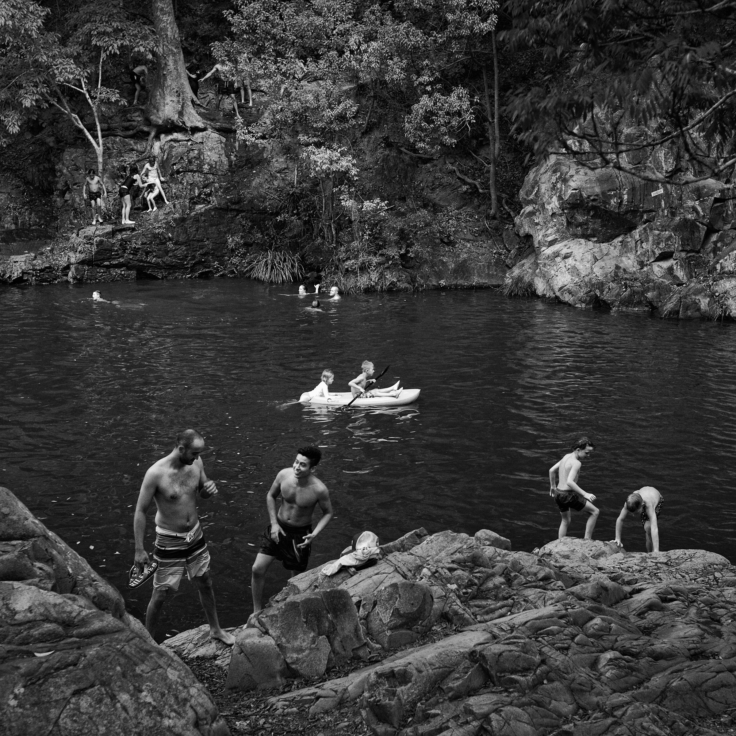 Currumbin Valley Rock Pool                             © Russell Shakespeare 2017