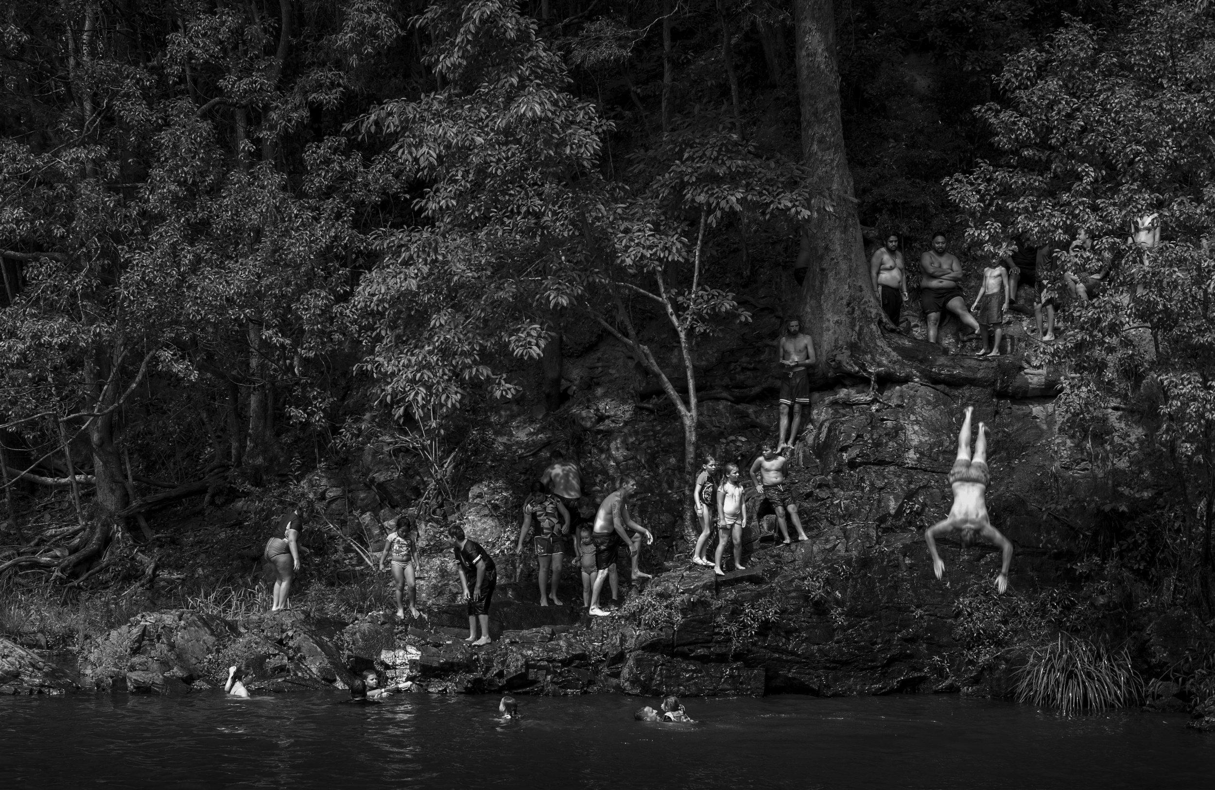 """Currumbin Valley Rock Pool""                              © Russell Shakespeare 2018"