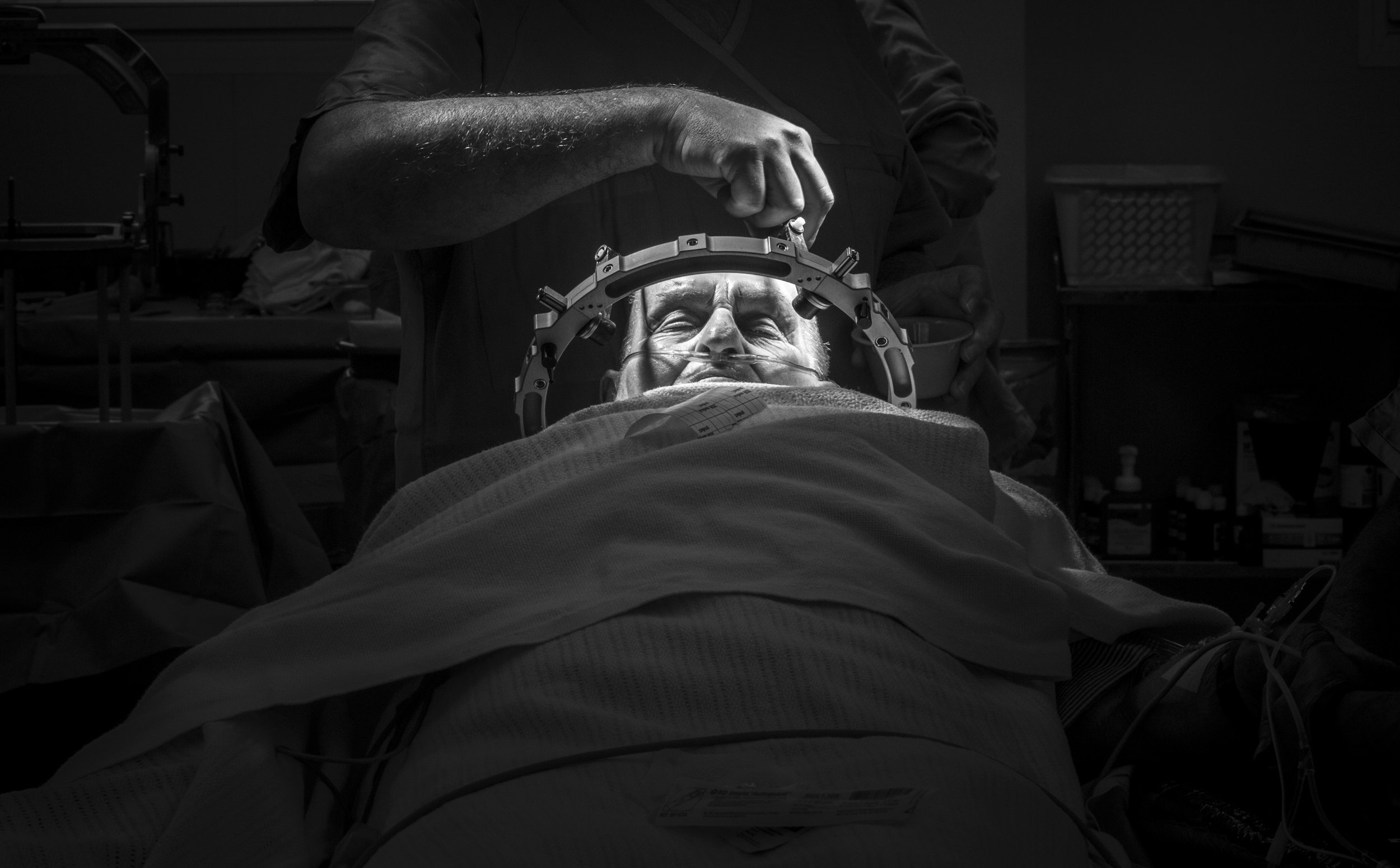 UQ Centre for Clinical Research (UQCCR) Deep Brain Stimulation  © Russell Shakespeare/The Magnum Foundation 2018