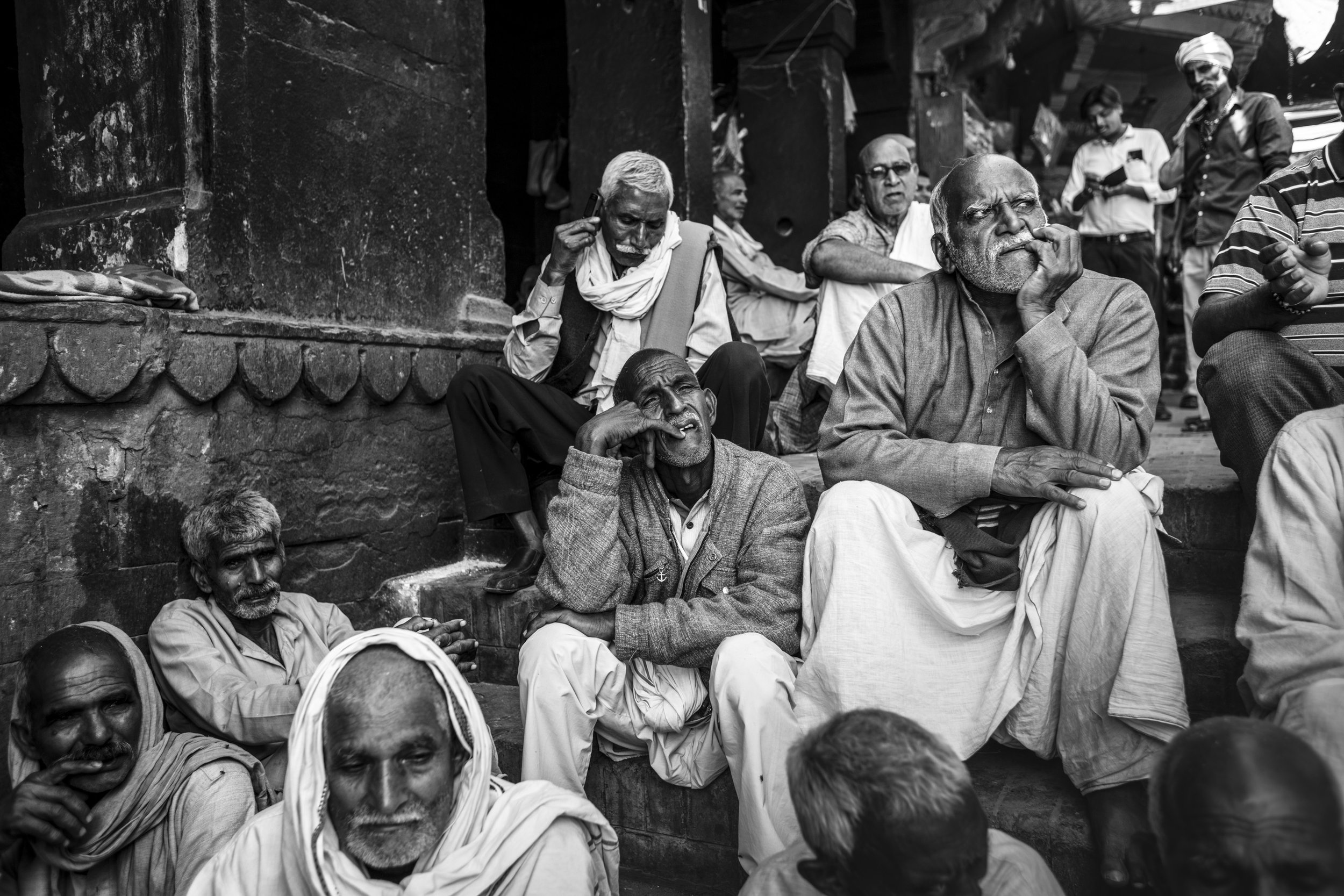 I have been travelling to Varanasi for over 30 years now, still one of my favourite places on the planet, every day feels like 10 years of life.                © Russell Shakespeare 2018