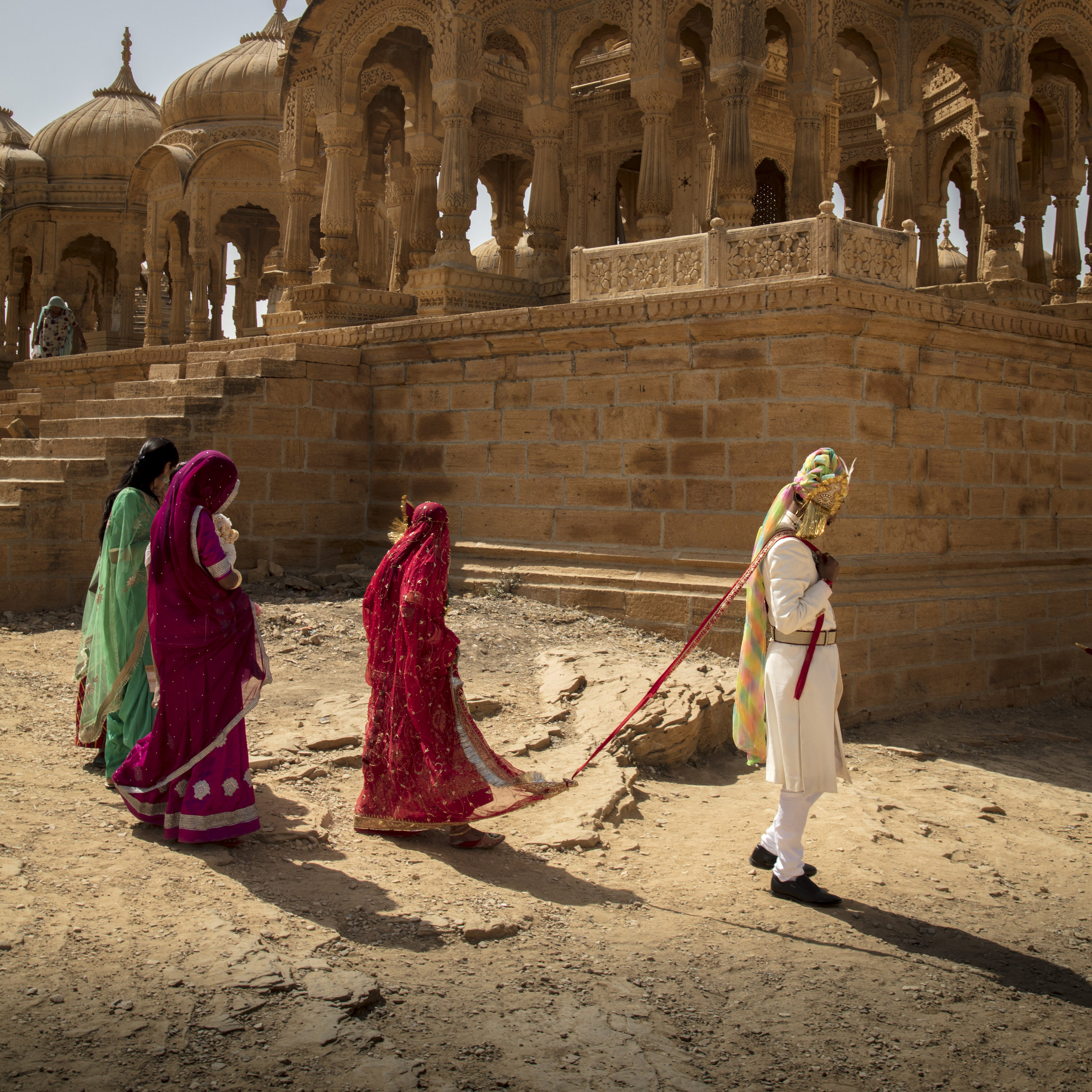 The Wedding Party, Jaisalmer, India.                                                                                © Russell Shakespeare 2019