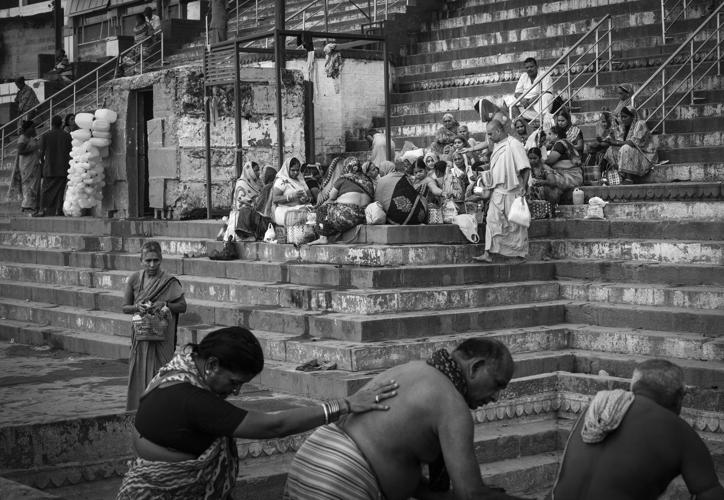 """Kedar Ghat, Varanasi, India""                                                                                                    © Russell Shakespeare 2019"