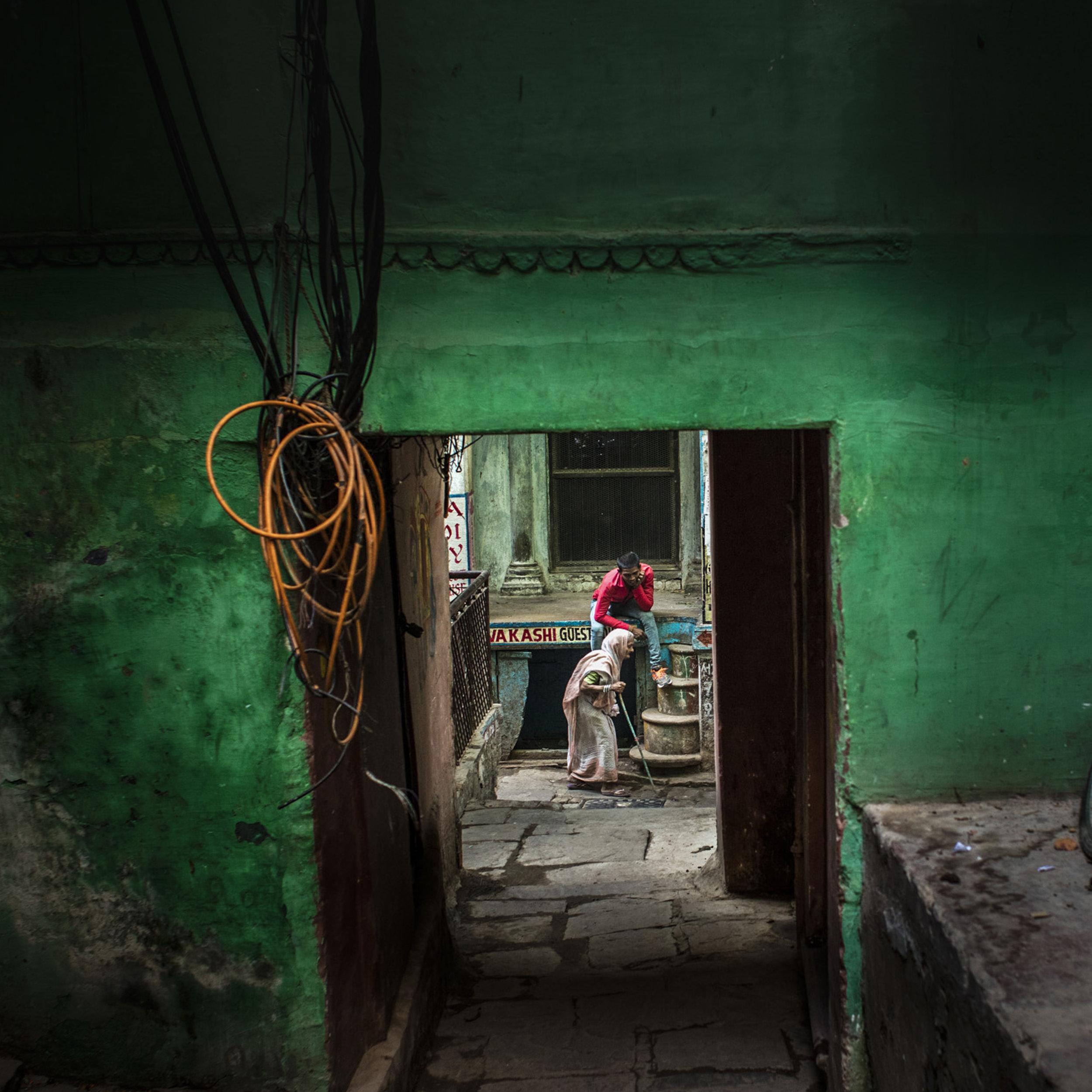 Varanasi, India                                                                                                               © Russell Shakespeare 2019