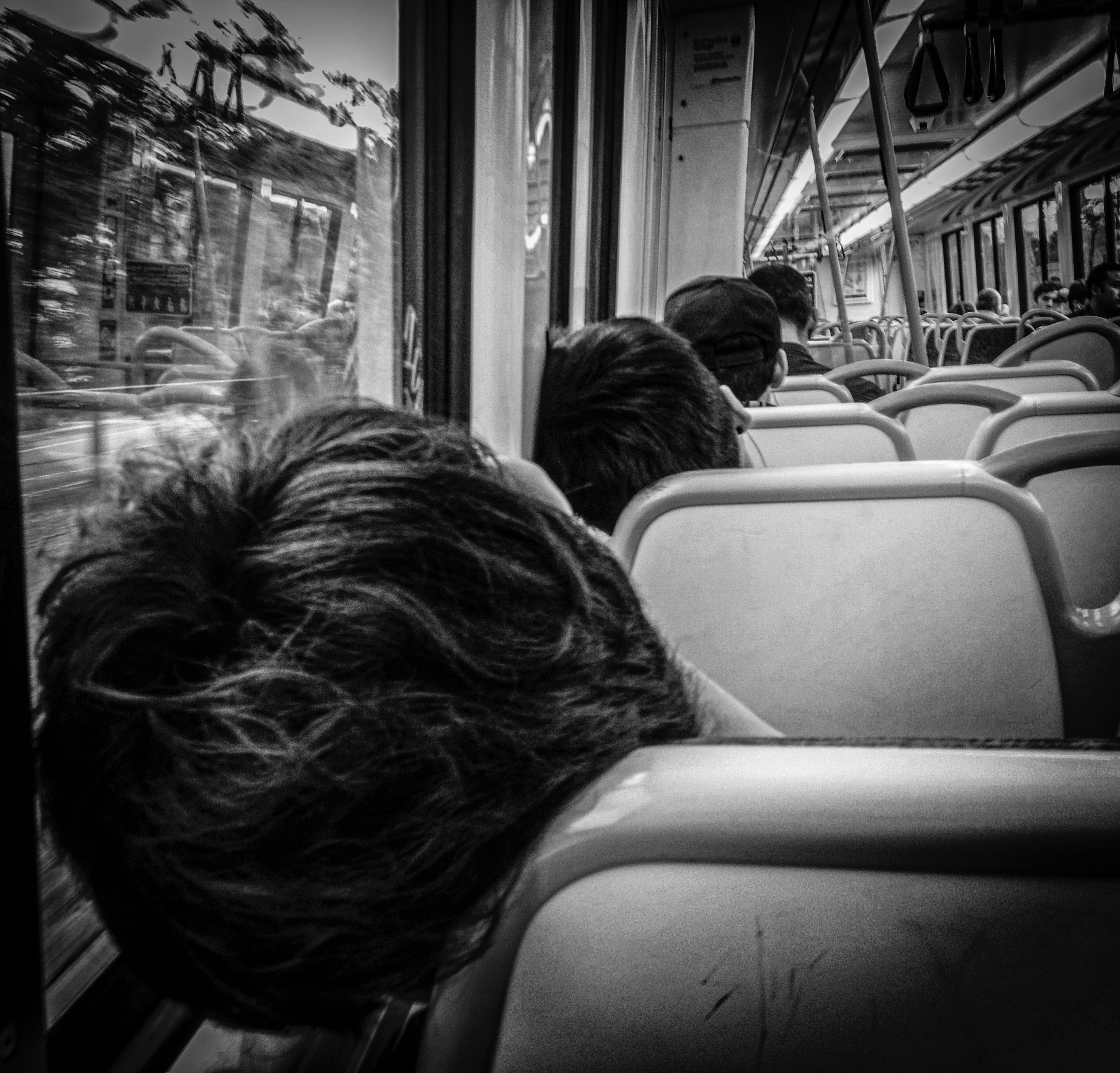 The Commute                                                                                                                              © Russell Shakespeare 2019
