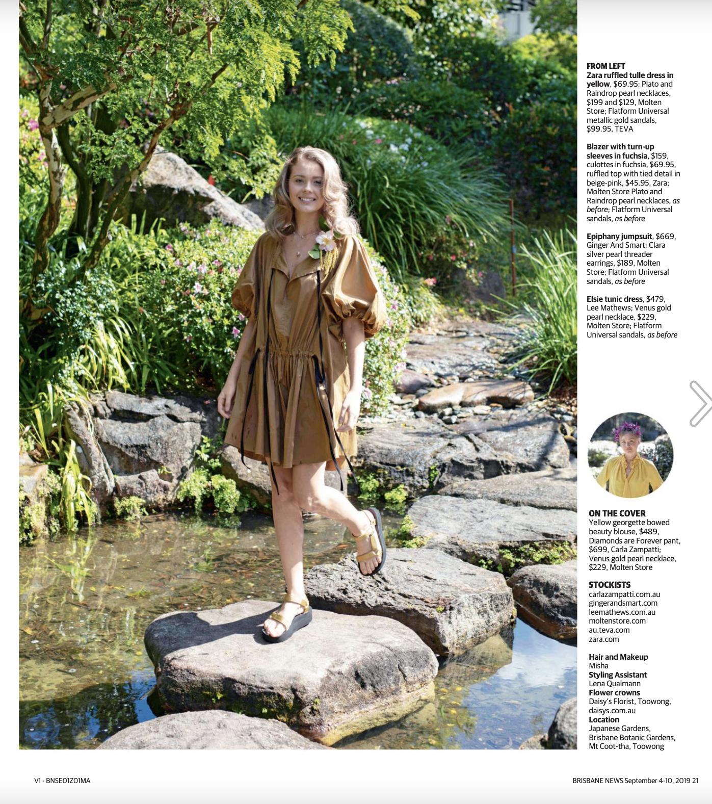 Latest shoot for Brisbane News Magazine                                                                           © Russell Shakespeare 2019