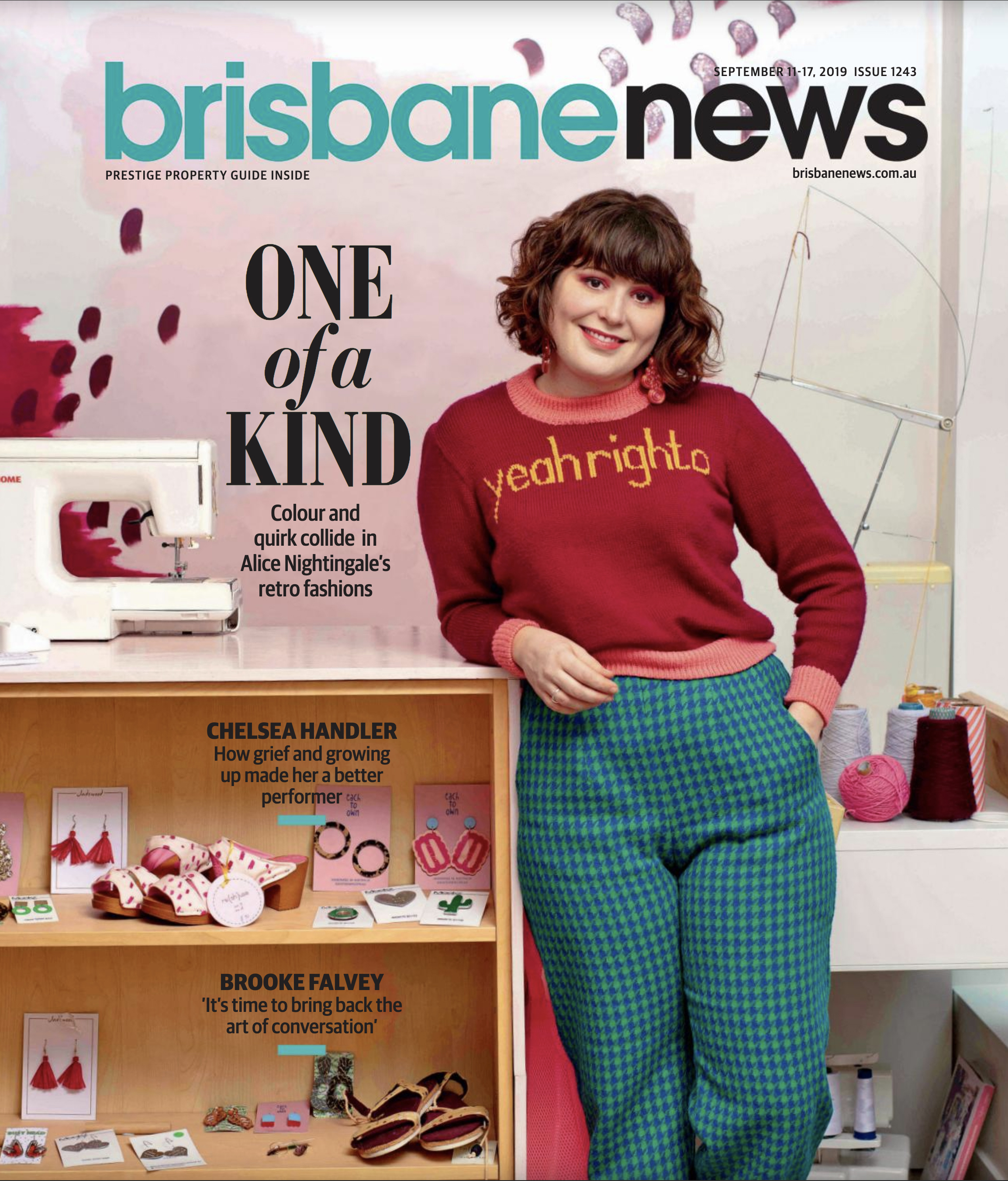 Alice Nightingale for Brisbane News Magazine                                                                   © Russell Shakespeare 2019