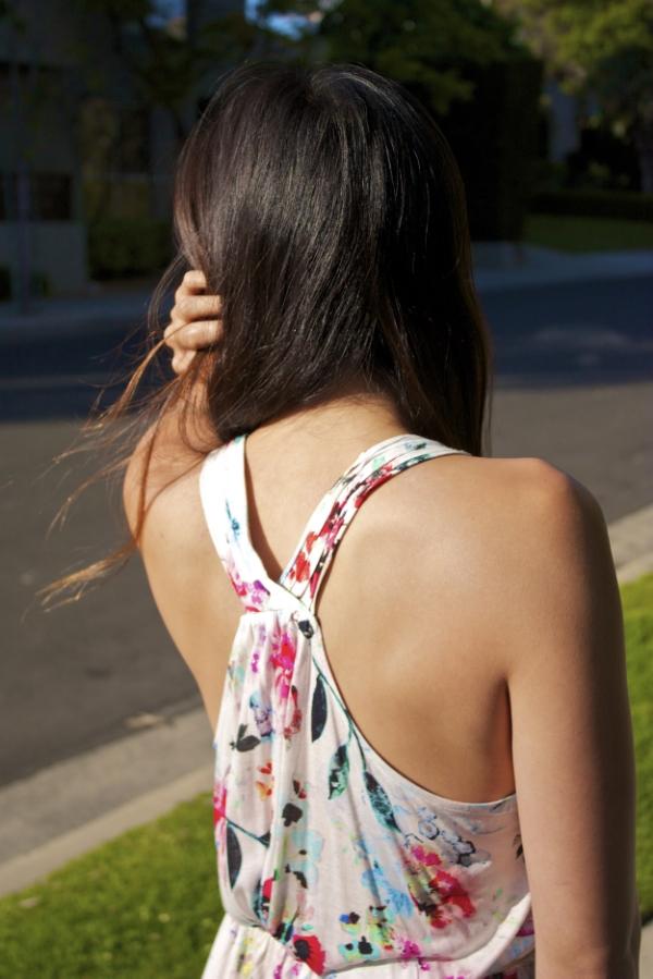 back of H&M dress