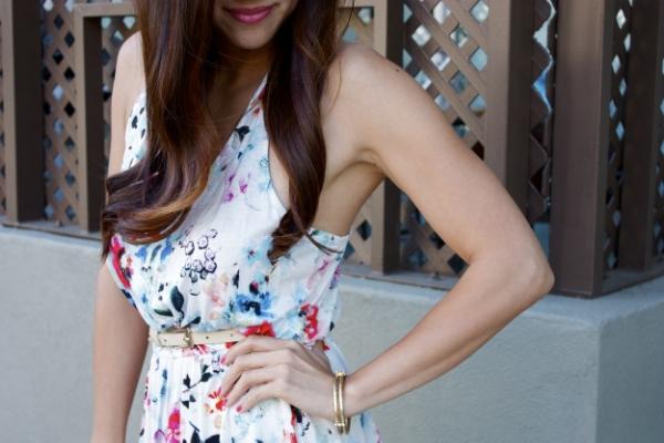 H&M dress and bracelet