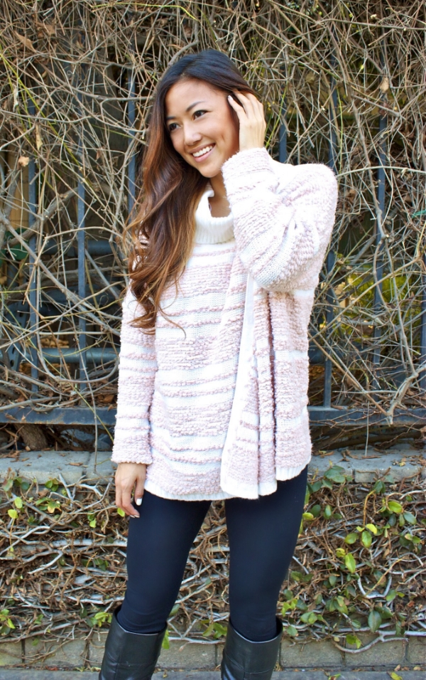 Calvin Klein blush sweater