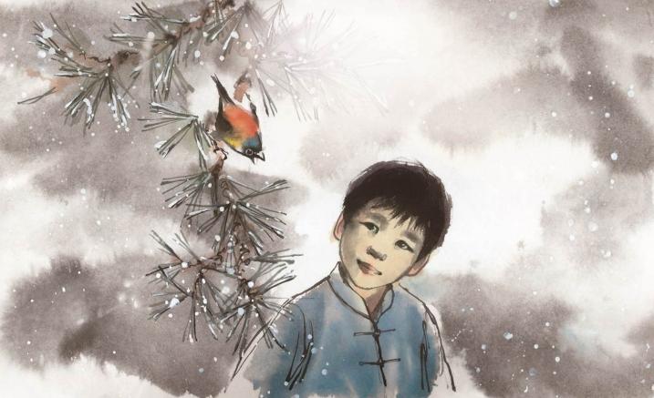 Image: Anne Spudvilas. From  The Peasant Prince : Li Cunxin