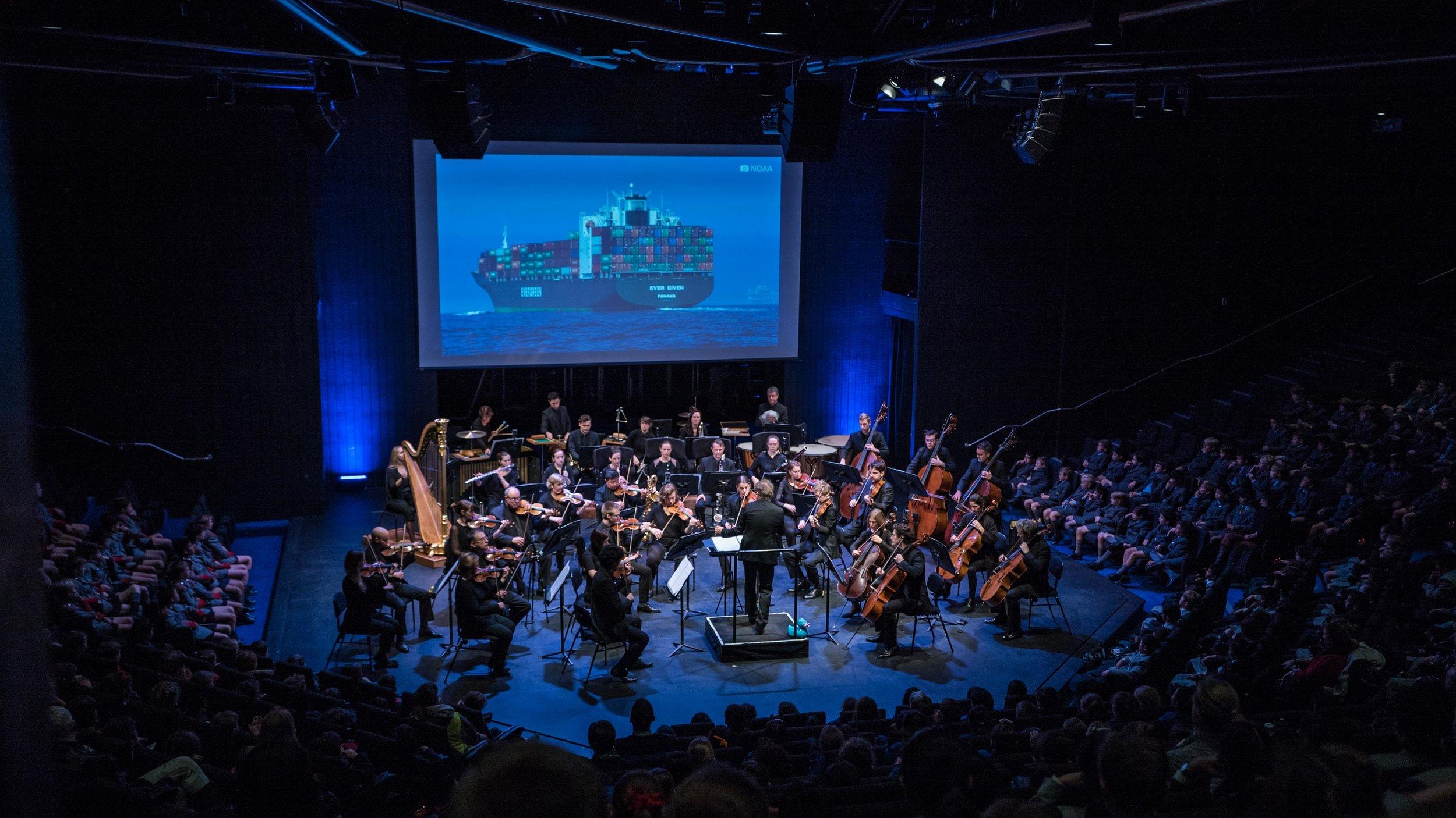 Sydney Symphony Orchestra/Grandage. Photo credit: Daniela Testa.