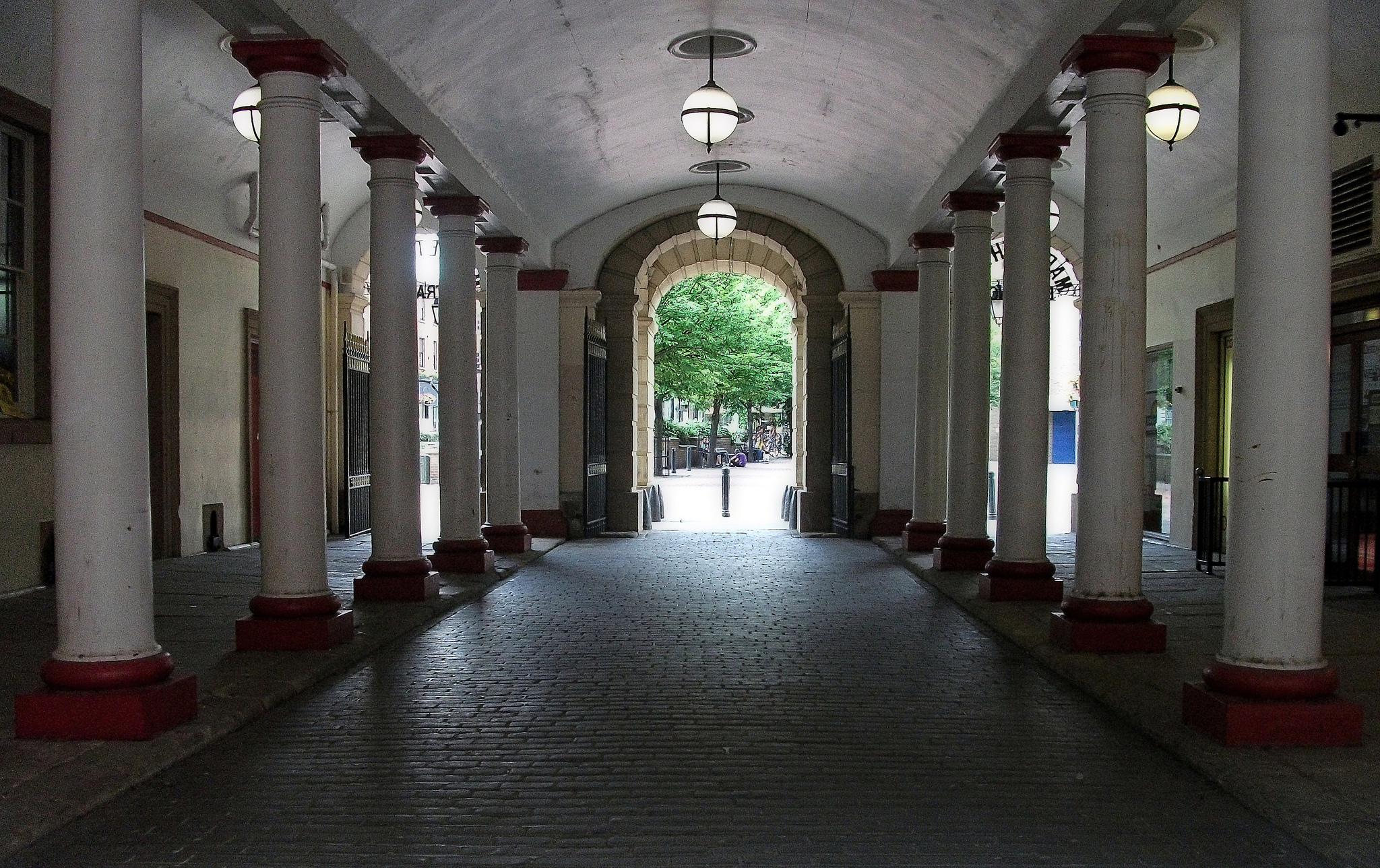 Market Hall in Derby, UK (C)  Duncan Harris