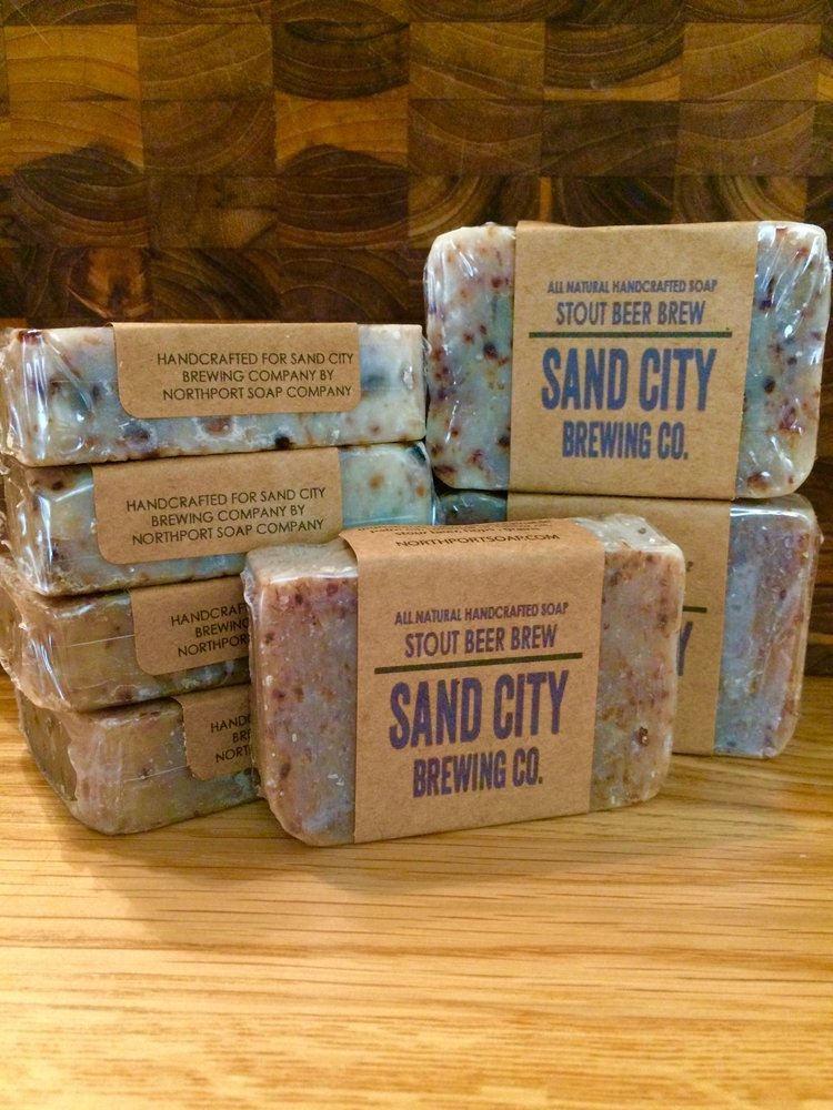 Handcrafted Natural Soap - Stout Beer Brew — Sand City Brewing Co