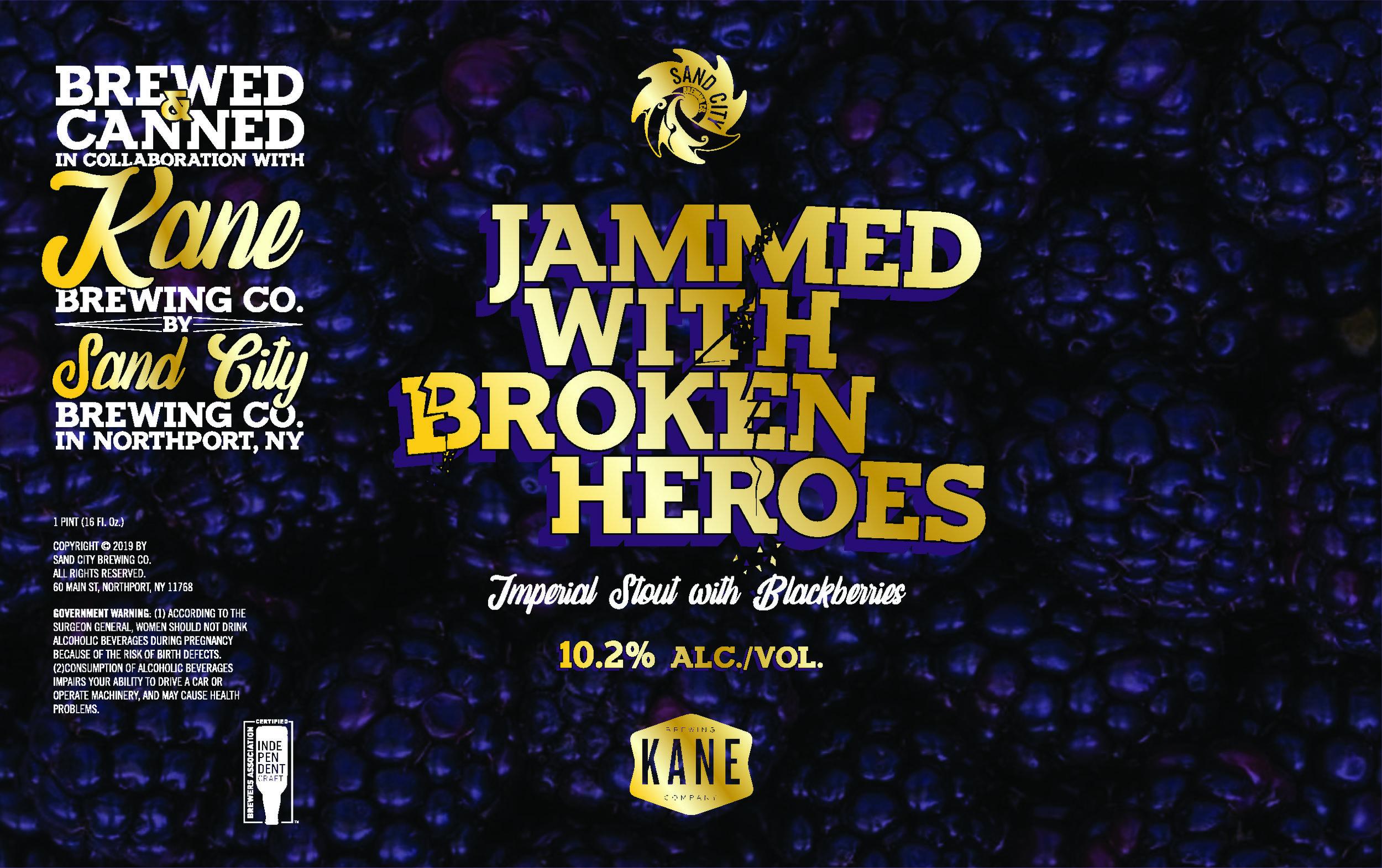 JAMMED WITH BROKEN HEROES