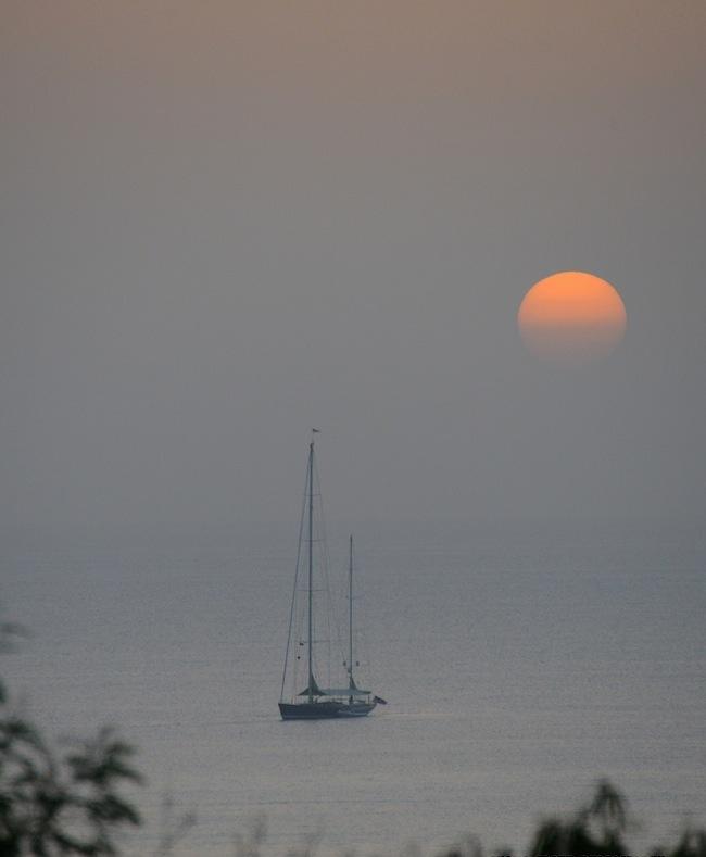 SUSAN CROFT PHOTOGRAPHY C2015 Sunset from My House Tonight.JPG