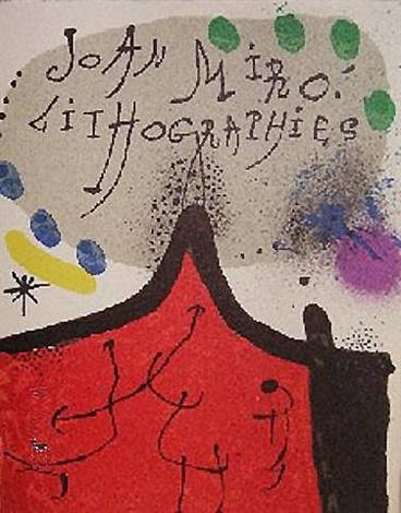 Joan Miró,  Lithographs, Vols I-IV, 1972