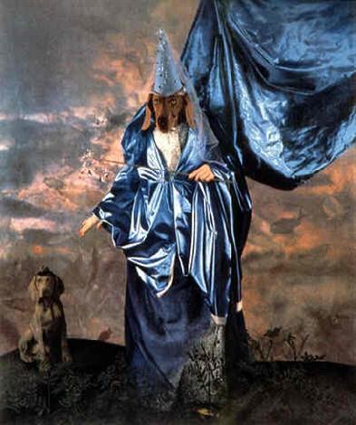 William Wegman,  Fairy Godmother, 1994