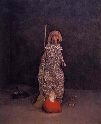 William Wegman,  Glass Slipper, 1994