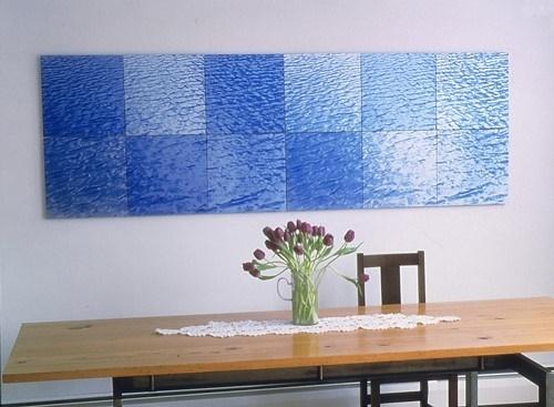 Ray Charles White,  Aluminum Water Series, 1998