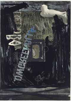 Jasper Johns,  Decoy II , 1973