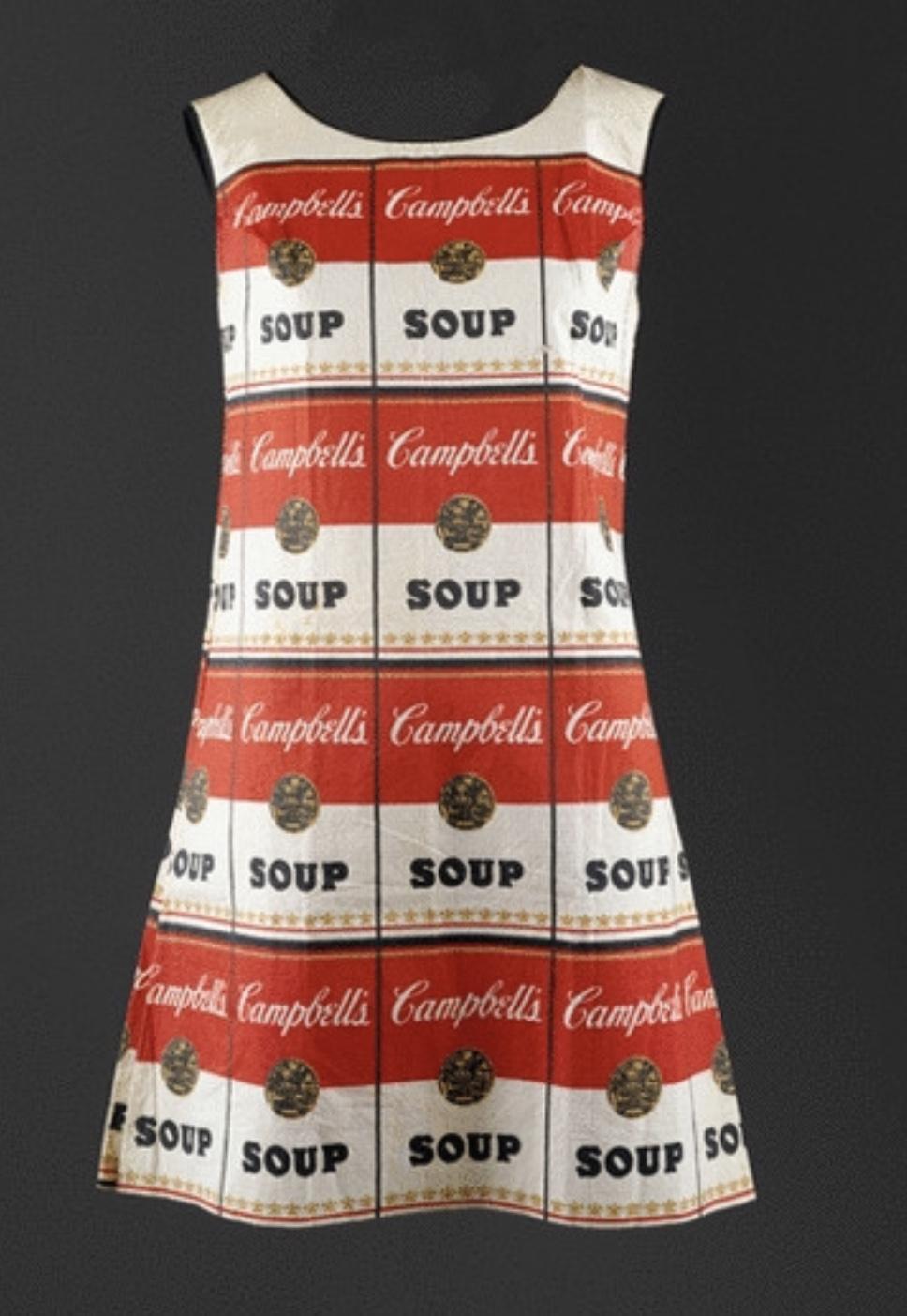 Andy Warhol,  The Souper Dress