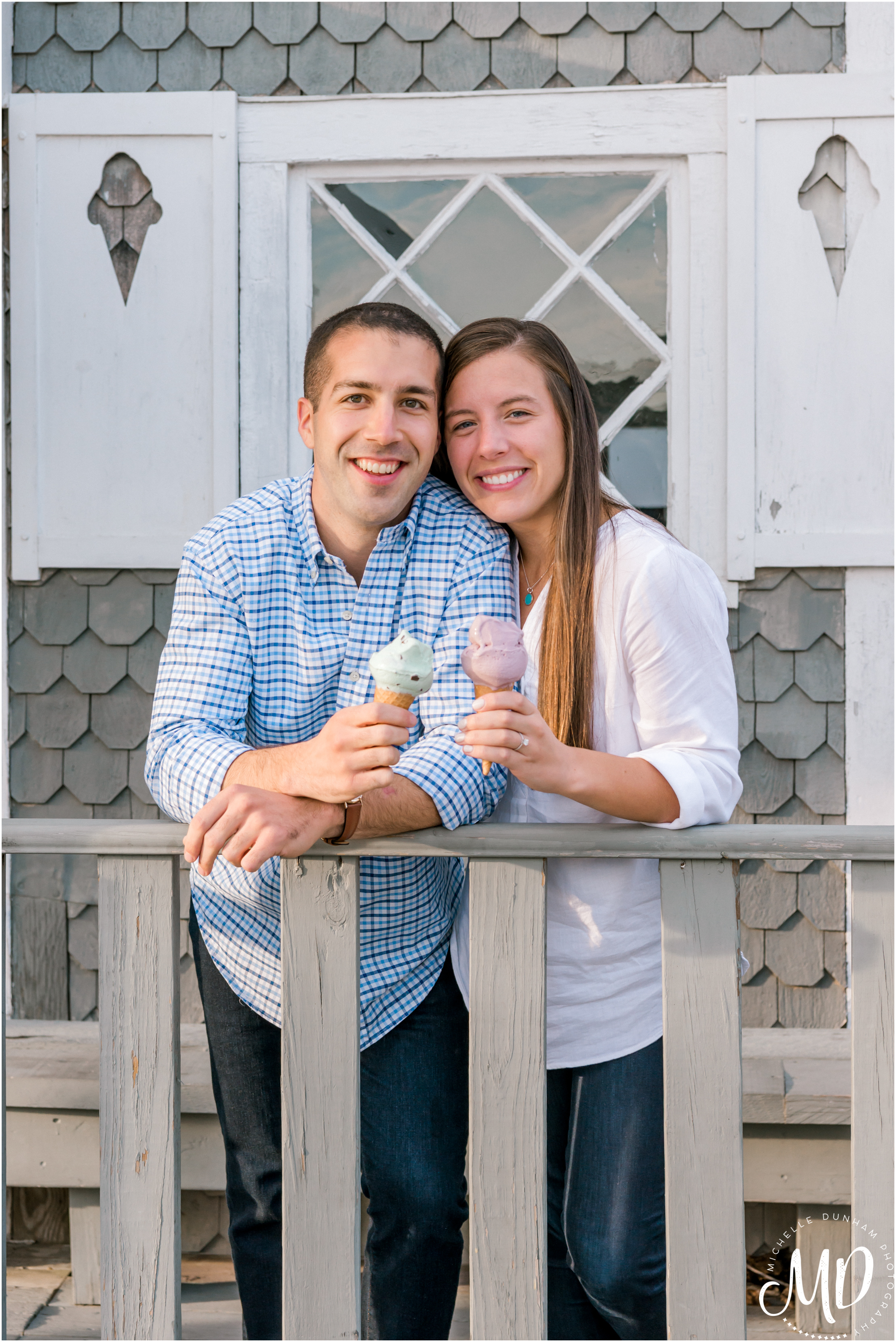 Michelle Dunham Photography-Duxbury-MA-Engagement-FarFars-Ice Cream 8.jpg