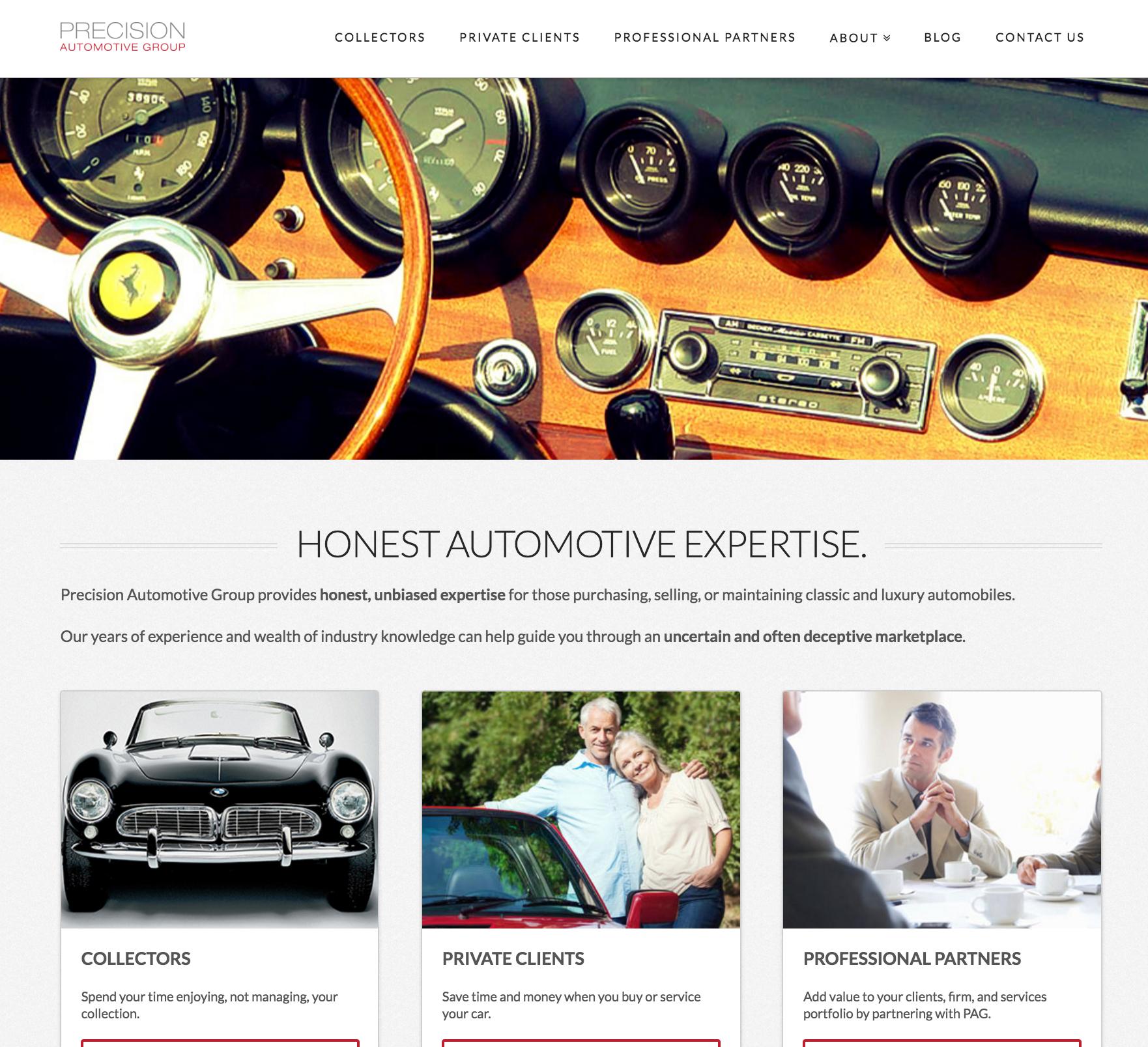 PAG Website: After