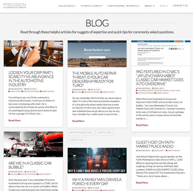 Article Content Development