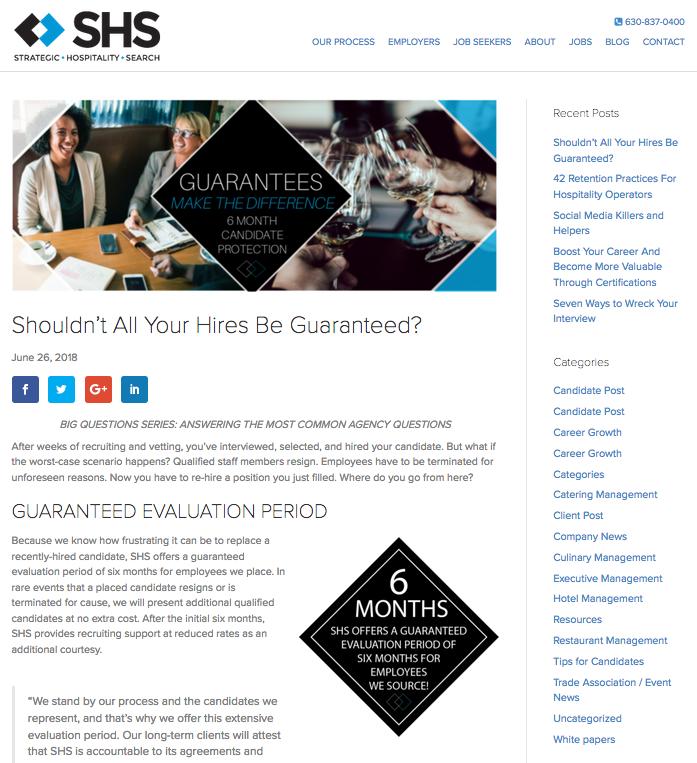 Website Article Design