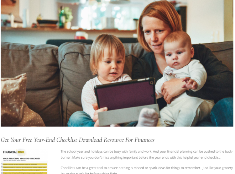Financial Planning Checklist Download