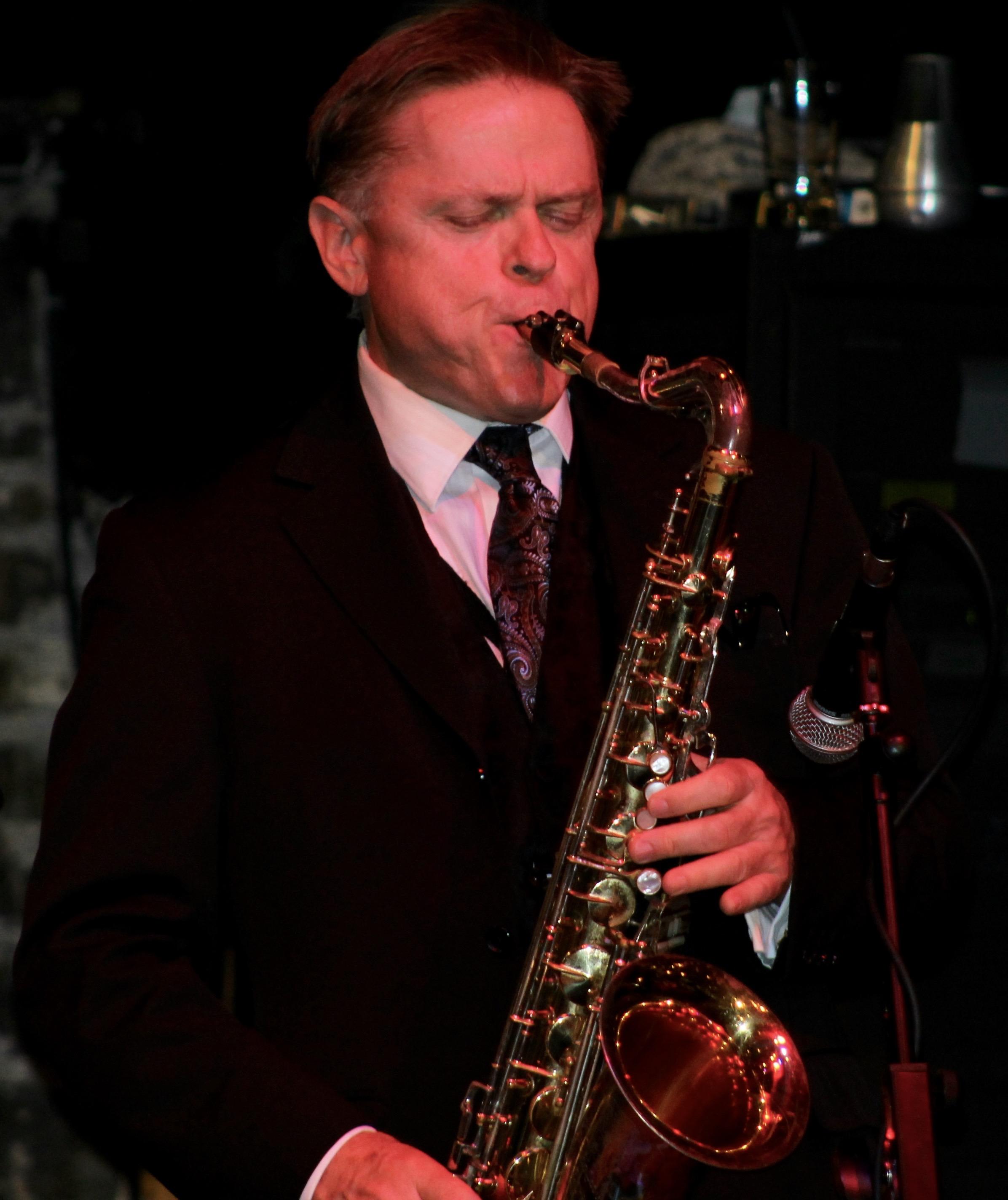 Jazz musician John MacMurchy at the Ken Page Memorial Trust - Oct. 2015