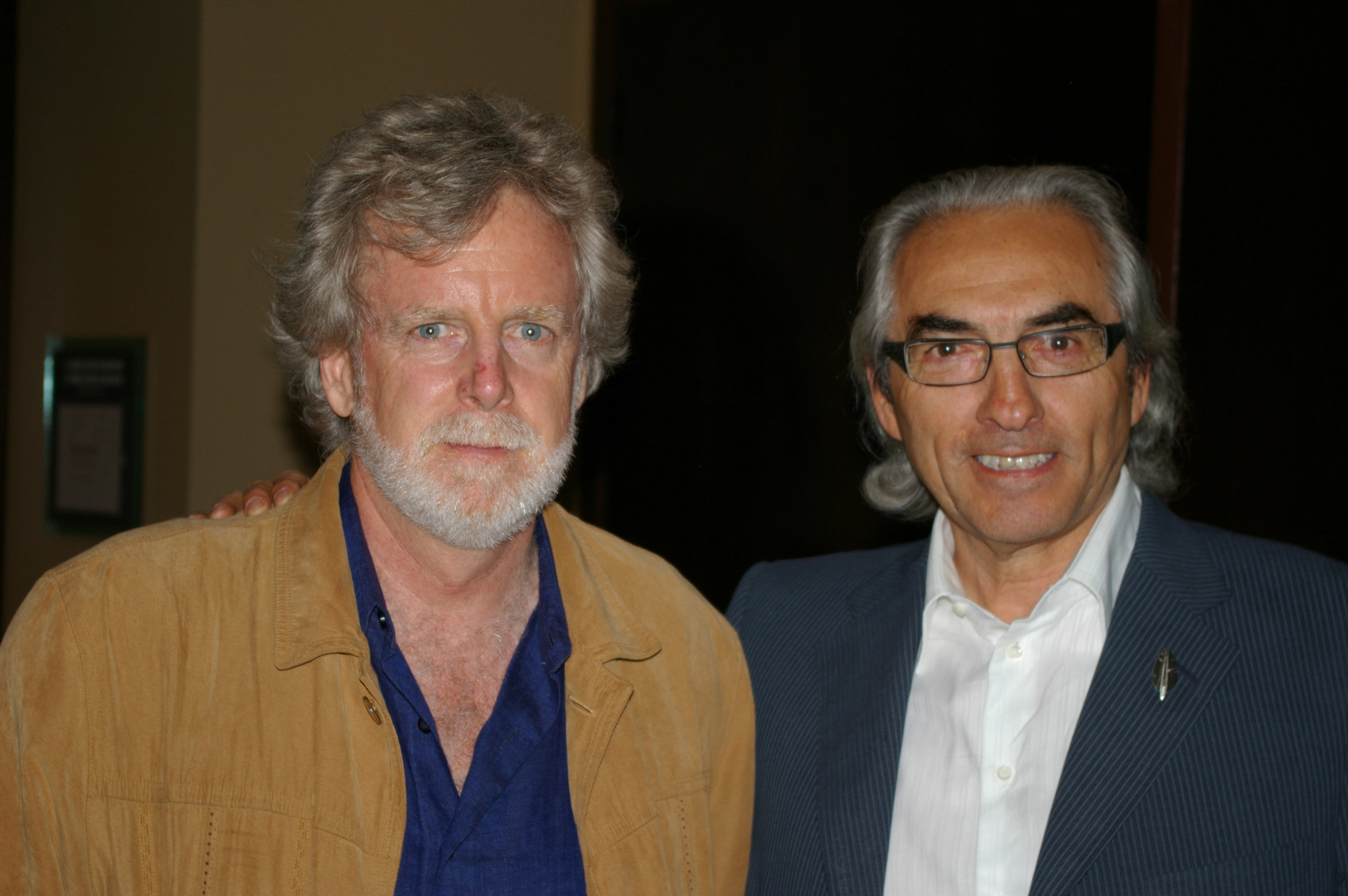 James Cullingham and Phil Fontaine, National Chief, Assembly of First Nations, 2008