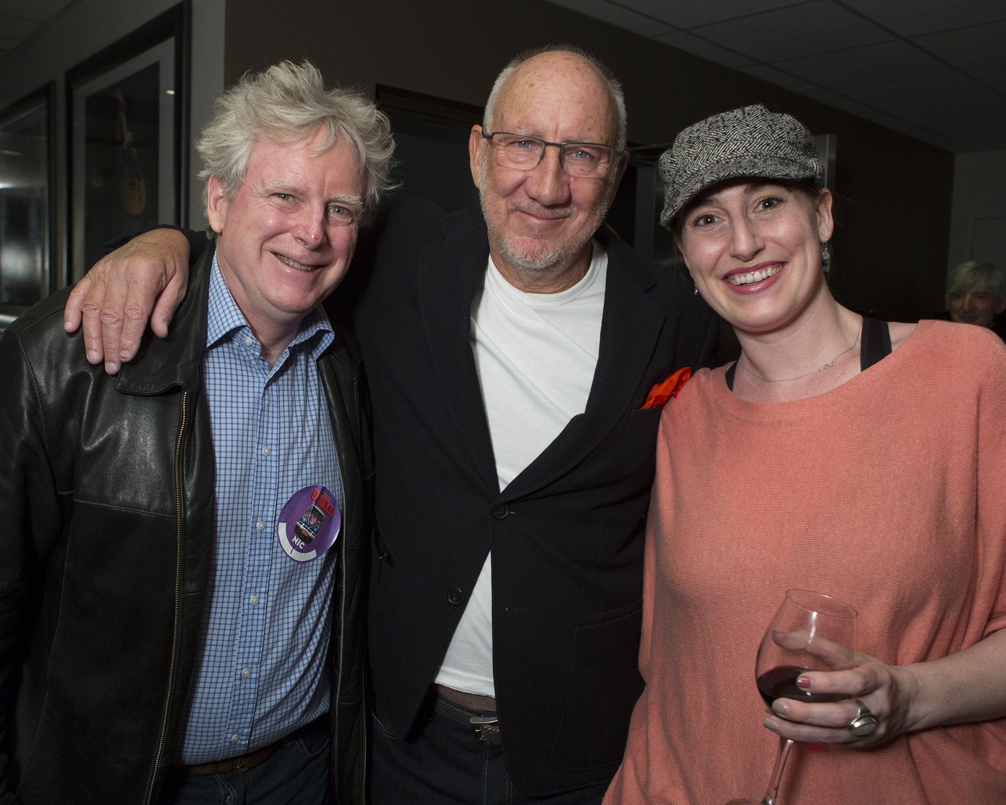 """James Cullingham, Pete Townshend and Jessica Anne Cullingham. """"In Search of Blind Joe Death"""" - the Saga of John Fahey"""