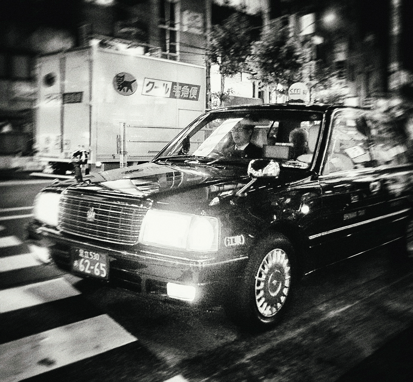 Black Cab , 2015, Digital Photograph
