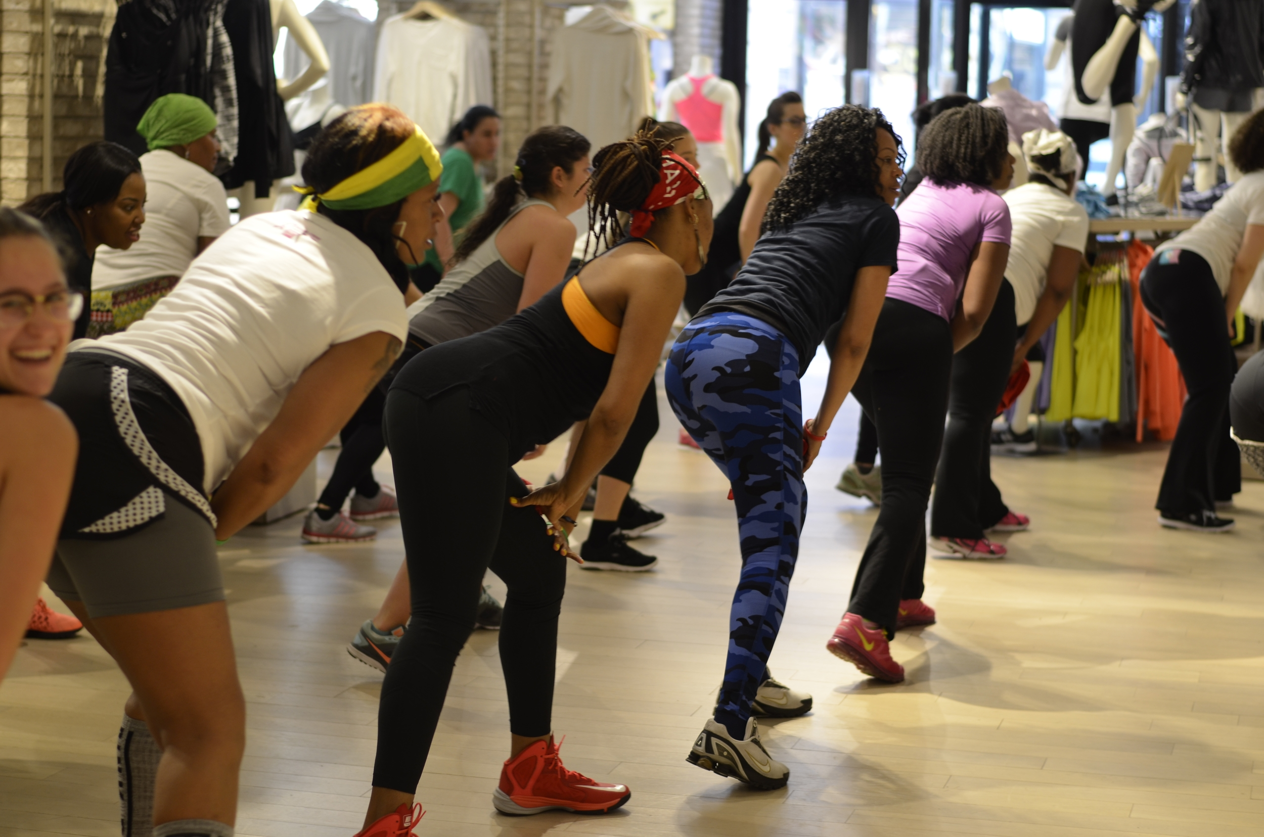 Wukkout!® at Athleta Flatiron - April 2015