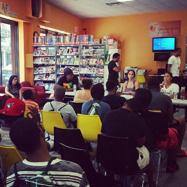 Queens Library Health Panel - July 2015