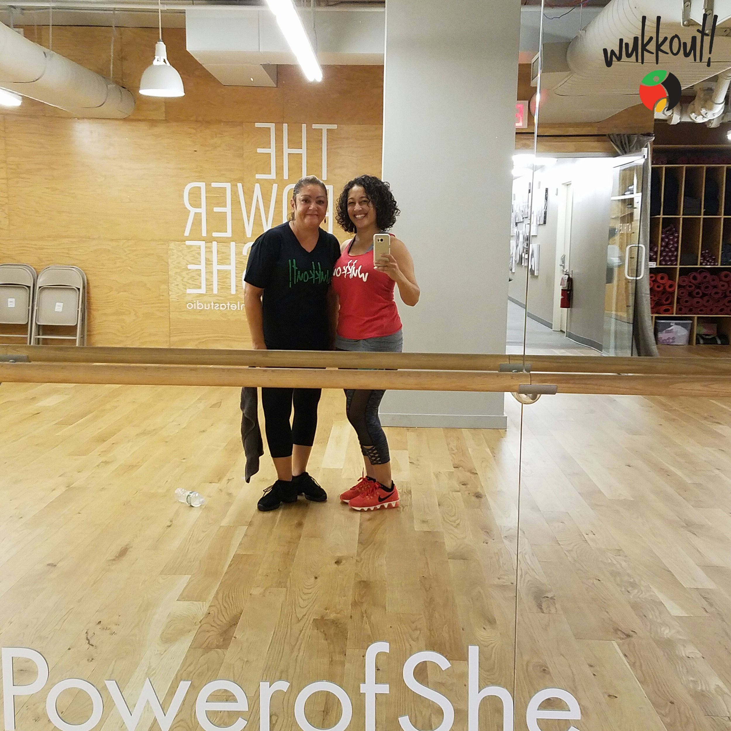 Shout out to Miriam for doing two-a-days every Monday last month!  #powerofshe
