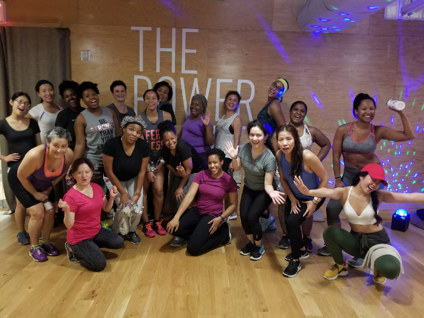Thank you to everyone who continues to wuk up a sweat with us on Fridays. See you this month!