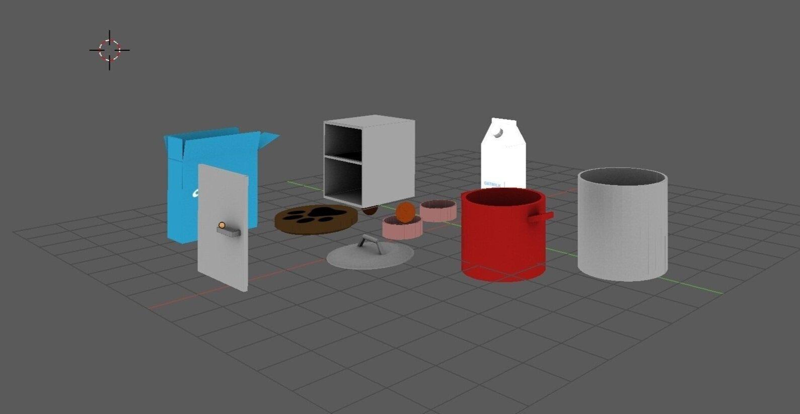 3D Model Rendering with Blender