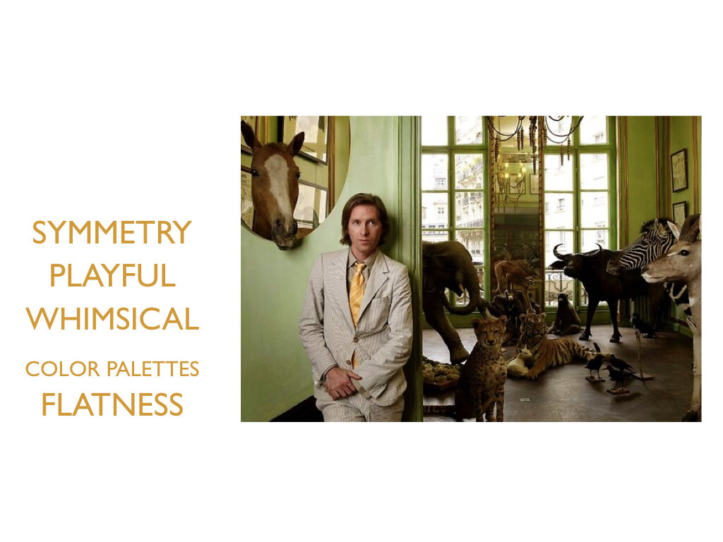 Key Words of Wes Anderson
