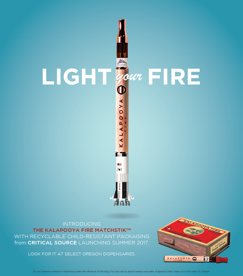 KALAPOOYA FIRE - FULL PAGE AD FOR LAUNCH