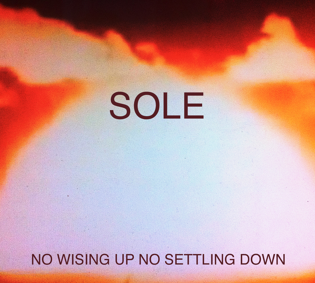 Sole:  No Wising Up No Settling Down