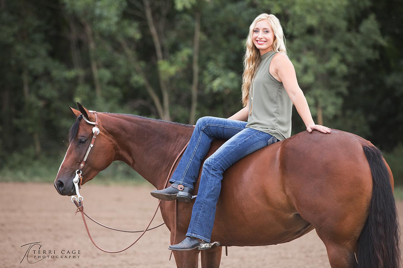 bareback, horse poses, bay horse