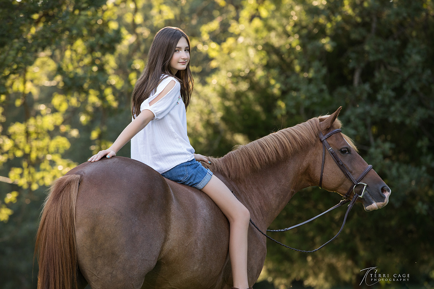 Tween session, photo shoot, north texas, tween with horses