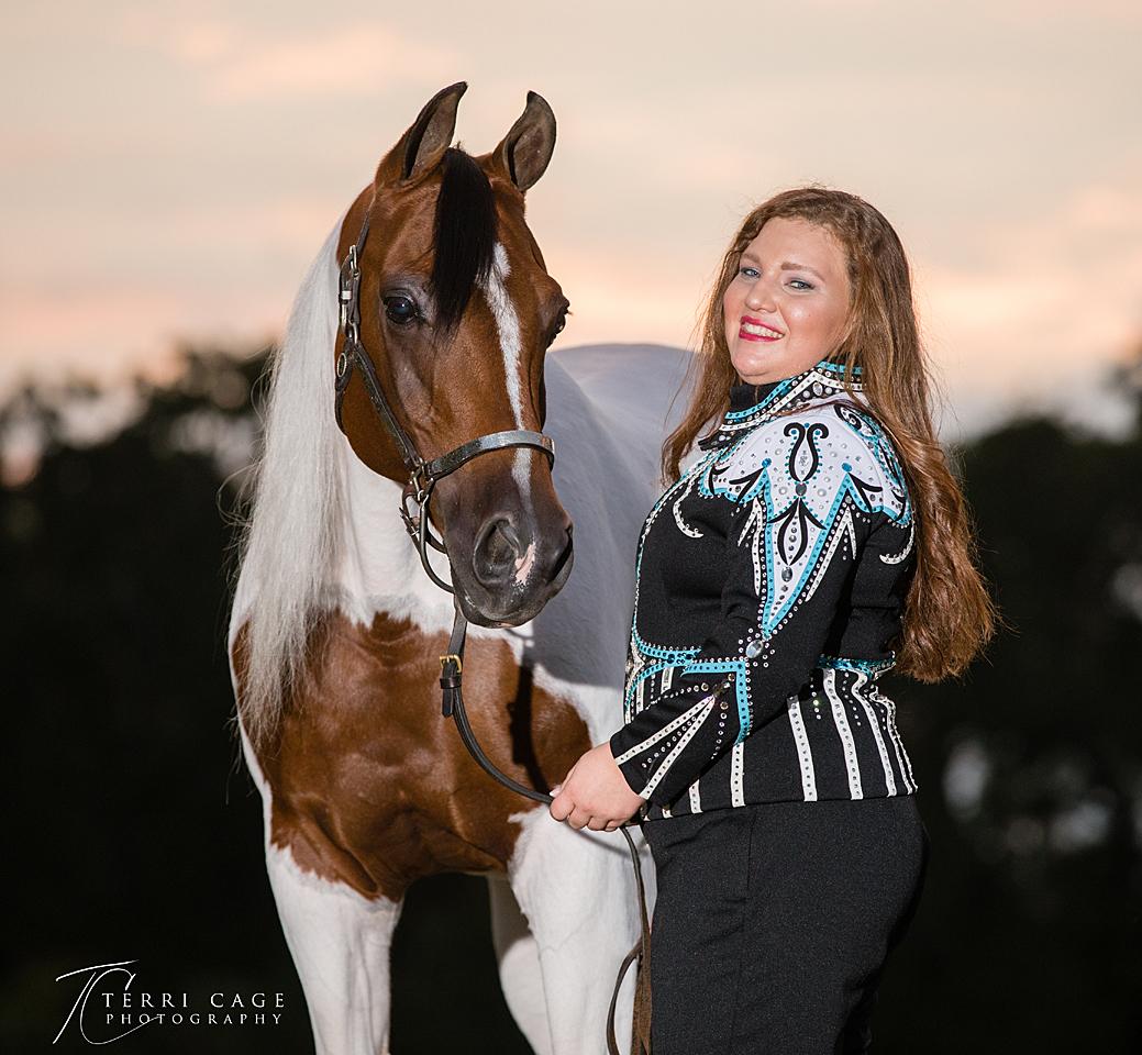 north texas senior portraits, equine